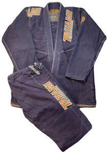 Tatami Mens Fightwear Nova Jiu Jitsu Kimono M2 Karate UFC Gear Top Bottom Sz A2L