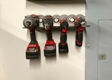 Cordless Tool Storage Rack - Drill, Impact, Milwaukee, Makita, DeWalt, Ryobi