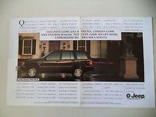 advertising Pubblicità 1995 JEEP GRAND CHEROKEE