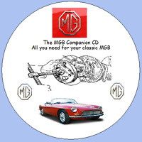 MGB Workshop Companion CD Inc Colour Wiring Diagrams