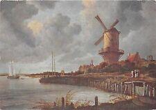 BF38924 jakob van ruysdael rijksmuseum amsterdam mill painting art postcard