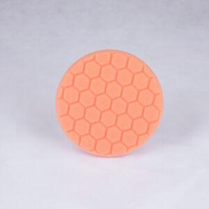 Chemical Guys HEX-LOGIC Medium to Heavy Cutting Pad - Orange (5 Inch)
