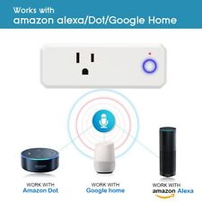 Smart WiFi Plug Outlet Socket Switch work with Echo Alexa Google Home APP Remote