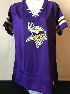 NFL Minnesota Vikings Women's Jersey Licensed by Fanatics Size 2XL