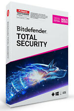 BitDefender Total Security 2018 - 1 Jahr/5 PC Download Code