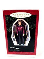 New Hallmark Star Trek Captain Jean Luc Picard Next Gen 1995 Keepsake Ornament