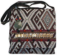 Tribal Pattern Hippie Boho Cross Body Hobo Messenger Bag