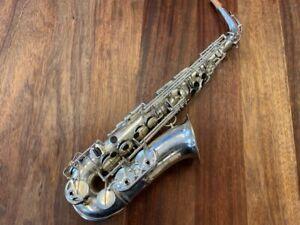 SELMER BALANCED ACTION Alto Saxophone - Nr 32011 - Repadded PERFECT - Ships FREE