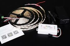 IC RGB KIT 5m STRISCIA STRIP LED DIGITALE BLUETOOTH DREAMCOLOR C7C1.B7D4.B9E3