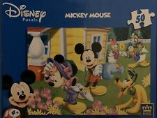 Disney Mickey Mouse And Friends Garden Puzzle 50 Pieces Excellent Condition
