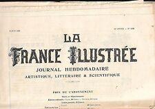 La France Illustrée Journal semanal 32e año Nº 1592 REF E9