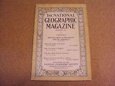 National Geographic October 1921 Trail Jungle Ecuador Andes Bogota Buenos Aires