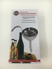 """""""Pre-Owned"""" - Norpro Stainless Steel Funnel With Strainer"""