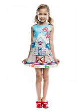 Rosalita Senoritas Kinder Mädchen Kleid Browning Gr. 116 Neu