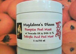 Magdalene's 15% Salicylic Acid Peel Pumpkin Exfoliate Acne Enzyme Clay Mask 2 oz