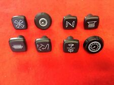 TRIUMPH TR5 TR6 1968 - 1971  DASHBOARD KNOB SET 8 PIECES  GKS6005X