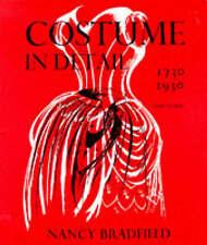 Costume in Detail: Women's Dress, 1730-1930, Nancy Bradfield | Paperback Book |
