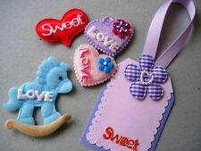 200 Mix Word Applique/saying/expression/craft/Padded/Valentine's Day L55-LOVE