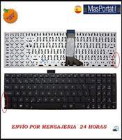 TECLADO ESPAÑOL NUEVO PORTATIL ASUS R554 R554L P/N: 13NB04X1AP0821 SP TEC22