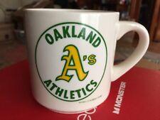 VINTAGE OAKLAND A's ATHLETICS 1988 WORLD SERIES Ceramic Coffee Beverage Mug