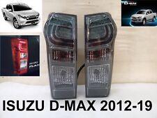 ISUZU Dmax D-max Smoke LT LS-U Ute Tail Light Lamp Pickup Parts LH RH 2012-2019
