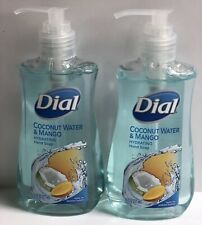 Dial Hand Soap. Coconut Water & Mango. (Lot Of 2) 7.5 fl oz