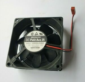 SanyoDenki PETIT ACE 25 109R0812H402 80mm x 80mm 12V DC FAN (IN1S2B1)