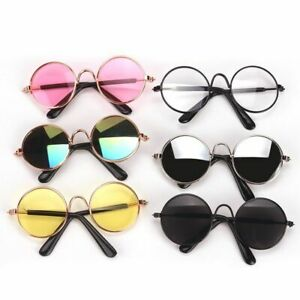 Dolls Fashion Round Sunglasses Colorful Lenses Fit 18 Inch Girl Doll Accessories