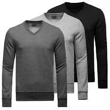 Normale unifarbene Herren-Sweatshirts aus Baumwollmischung