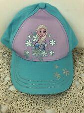 Disney Frozen Elsa Youth Girl's Baseball Cap/Hat Adjustable Toddler Size NWT