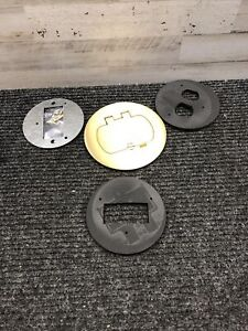New Carlon Dual Service Brass Floor Cover Kit E97BR2D MISSING PIECES