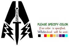"""Mass Effect Special Force Adhesive Vinyl Decal Sticker Car Truck Window 12"""""""