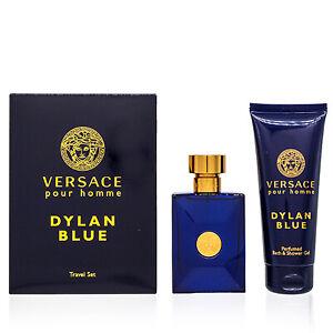 Versace Dylan Blue Gift Set 2 Pc Travel Set (men)