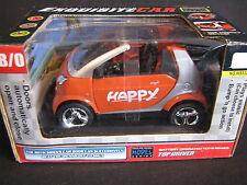 Emulate Model Smart City Cabrio 1:24(?) Oranje / Silver (JS)