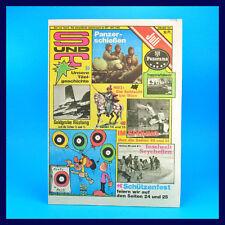 S und T 7/1983   Panzertruppen   DDR-Zeitschrift GST NVA Sport und Technik