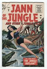 Jann of the Jungle #8 (#1) Golden Age 1st Issue , Atlas - 1955 Don Heck art NICE