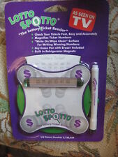 Lotto Spotto. The Lottery Ticket Reader. As Seen On TV. New In The Pack