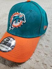 Miami Dolphins New Era Stretch Flex Fit Hat Medium/Large M/L