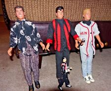 """New Kids on the Block 12"""" Dolls & Cassette Tapes Nkotb Hangin Tough Step by Step"""