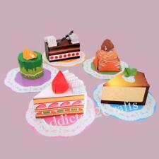 5 Yummy Delicious Cheese Cake Mont Blane Chiyogami JAPANESE ORIGAMI PAPER 15cm