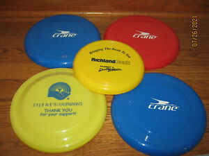 Vintage Lot of 5 Frisbees Flying Disc's