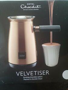 BRAND NEW IN BOX Hotel Chocolat Velvetiser Hot Chocolate Maker