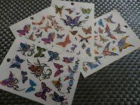 Tatouage éphémère body art tatouage temporaire fleurs papillons modèles tatoo