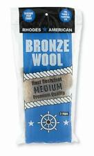 Bronze Wool 3 Pad Pack - Medium