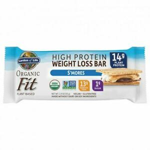 Organic Fit Bar S'mores 12 Count by Garden of Life