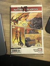 Black Panther vs. Deadpool 1D Ortiz Variant 2nd Printing NM 2018