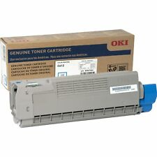 OKI Toner Cartridge f/C612 6 000 Page Yield CYN 46507503
