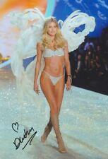 DOUTZEN KROES Victoria Secret Foto 20x30 orignal signiert IN PERSON Autogramm
