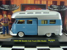M2 Machines 1959 VW DOUBLE CAB TRUCK USA LOOSE 1:64 SCALE AUTO-THENTICS SERIES