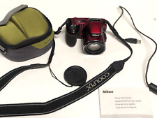New Nikon COOLPIX L810 16.1MP Digital Camera - Red